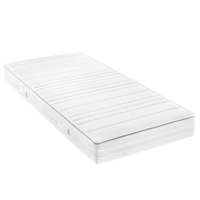f.a.n. TTFK-Matratze Luxus Vital 100x200 cm H2 bis zu 80 kg Punktelastisch Weiß