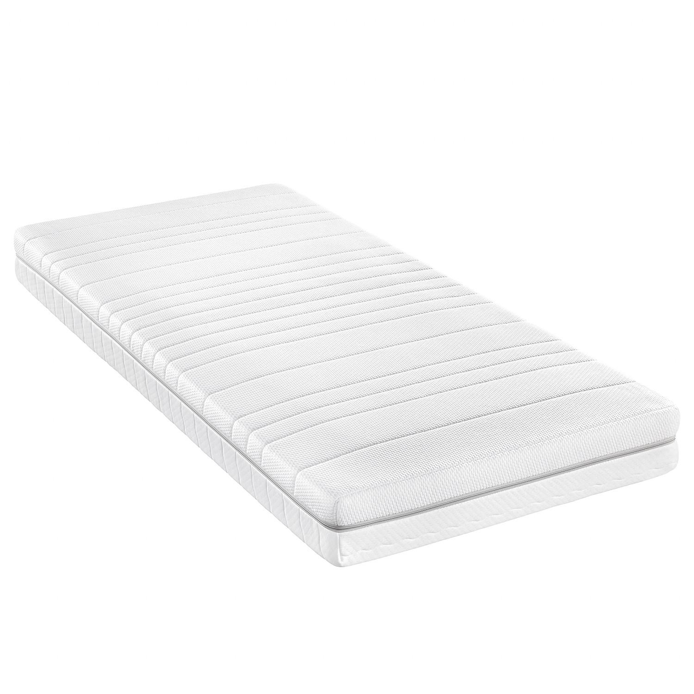 f.a.n. Taschenfederkernmatratze Premium Vital 100x200 cm H4 bis zu 120 kg Punktelastisch Weiß