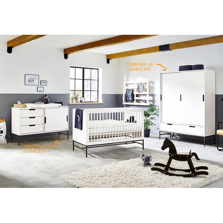 home24 Kinderzimmer Steel (3-teilig)
