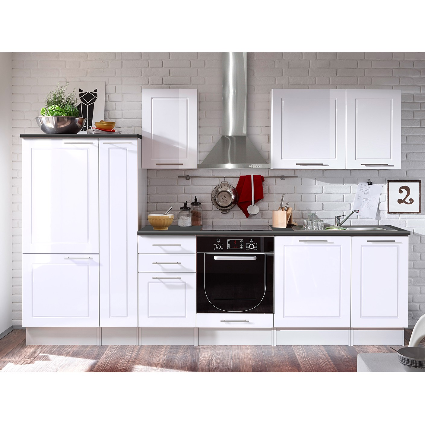 Küchenzeile Meliana (11-teilig)