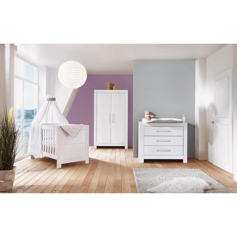 Kinderzimmer-Set Nordic White I (3-tlg.)
