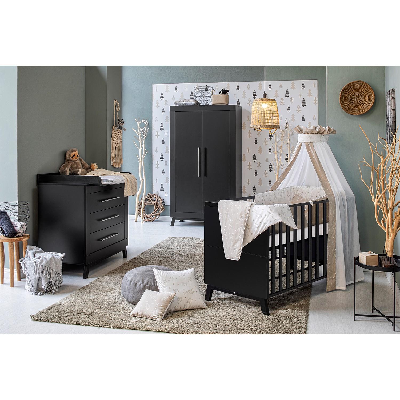 Kinderzimmer-Set Miami Black I (3-tlg.)