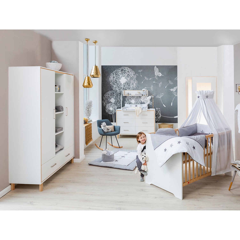 Kinderzimmer-Set Coco White (3-teilig)