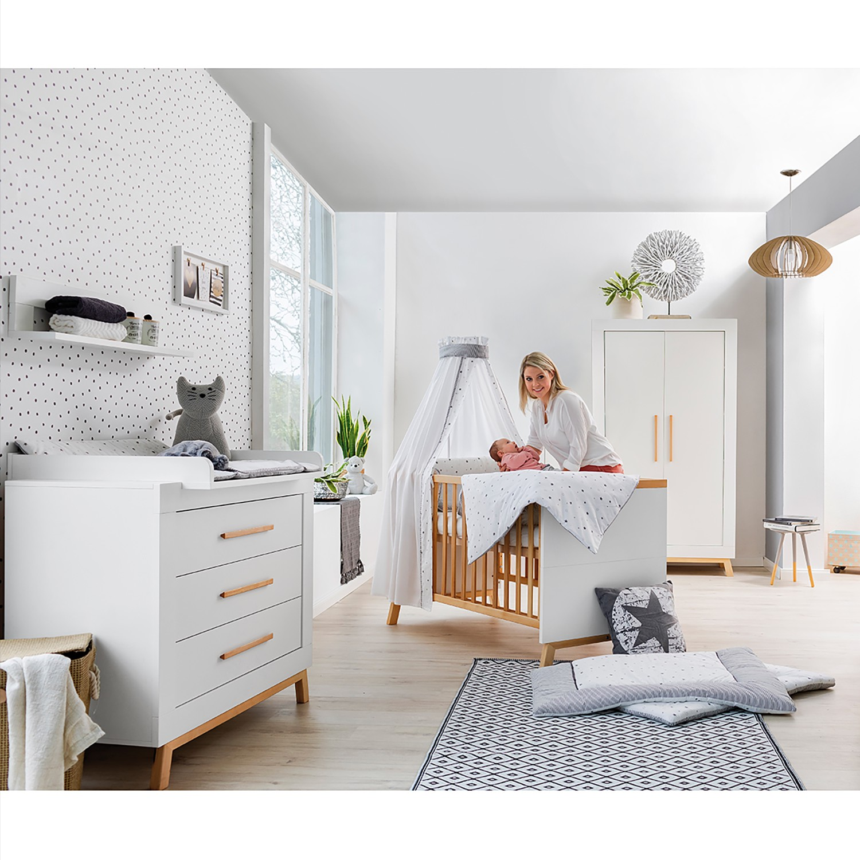 Kinderzimmer-Set Miami White I (3-tlg.)