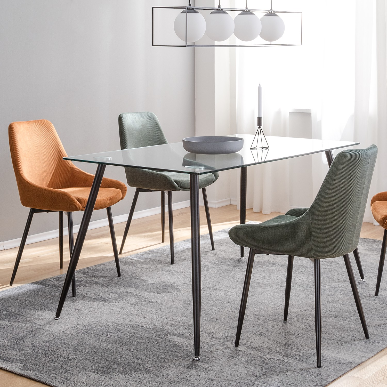 Home24 Gestoffeerde stoelen Beebe (set van 2), home24