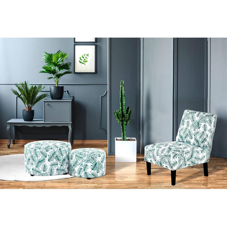 Home24 Gestoffeerde stoel Indira V, home24