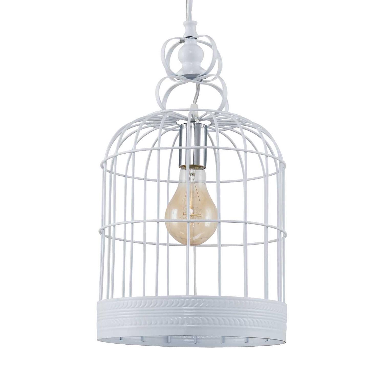 home24 LED-Pendelleuchte Cage I