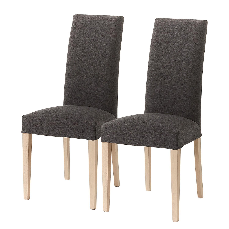 Home24 Gestoffeerde stoelen Ellerby I (2 stuk), home24