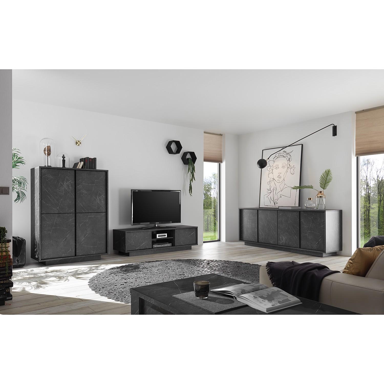 home24 TV-Lowboard Carrara