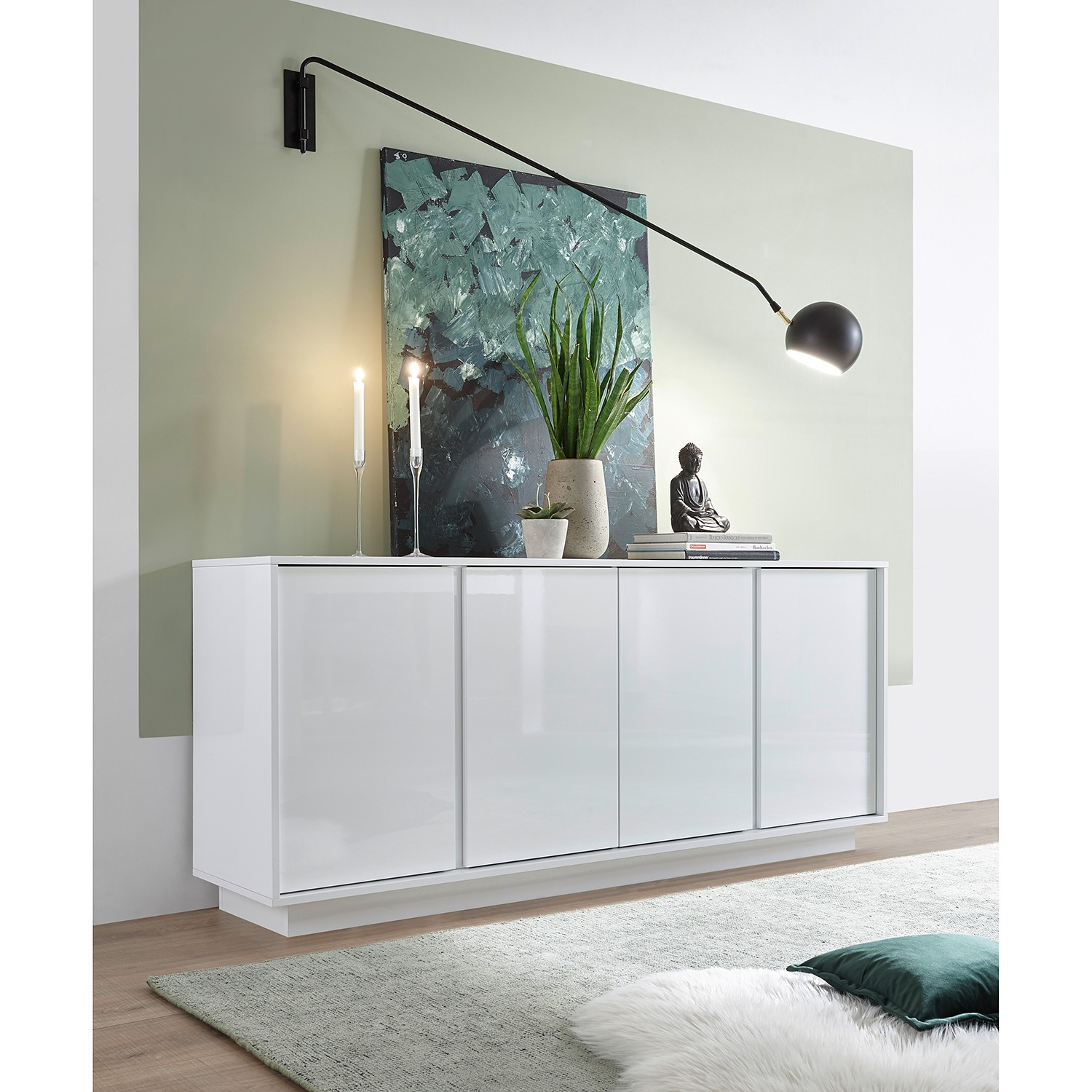 home24 Sideboard Ice I