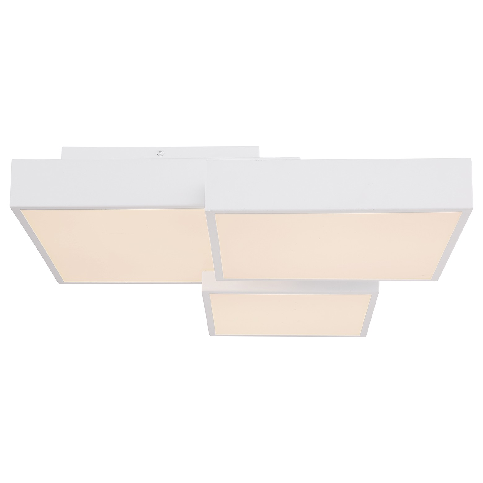 home24 LED-Deckenleuchte Squares III