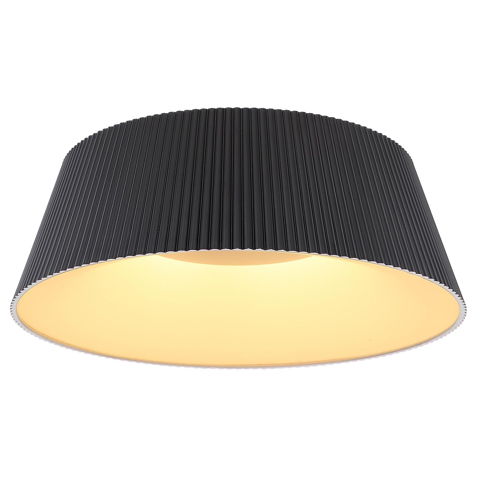 home24 LED-Deckenleuchte Crotone