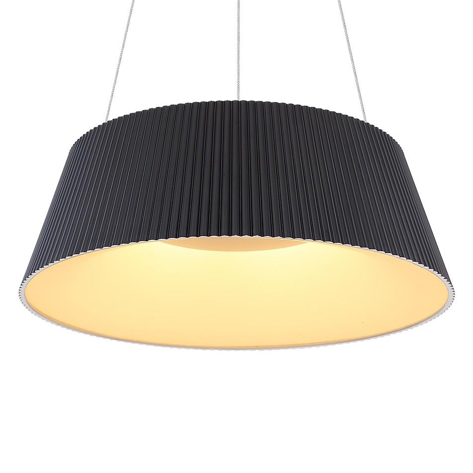 home24 LED-Pendelleuchte Crotone