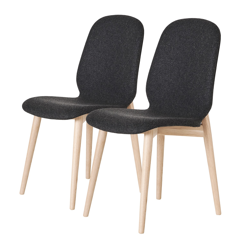 Home24 Gestoffeerde stoelen Juuma (set van 2), home24