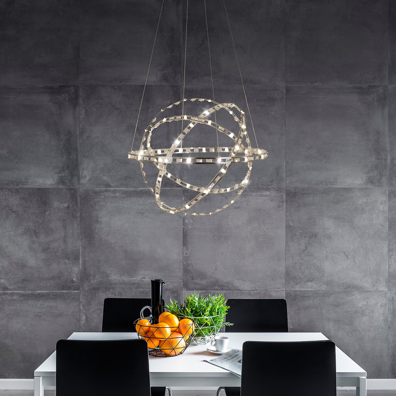 home24 LED-Pendelleuchte Cosmos