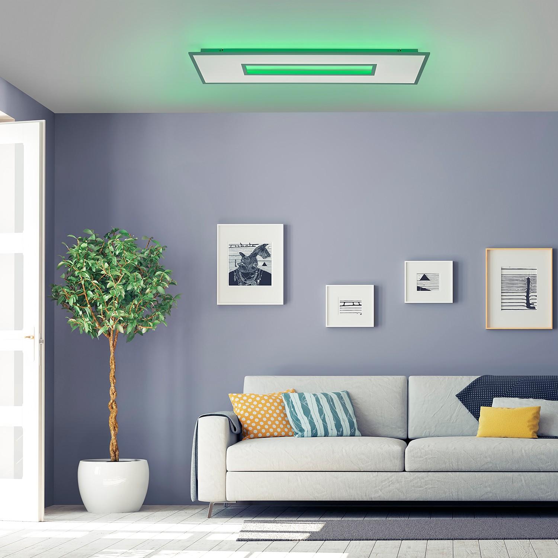 home24 LED-Deckenleuchte Recess I