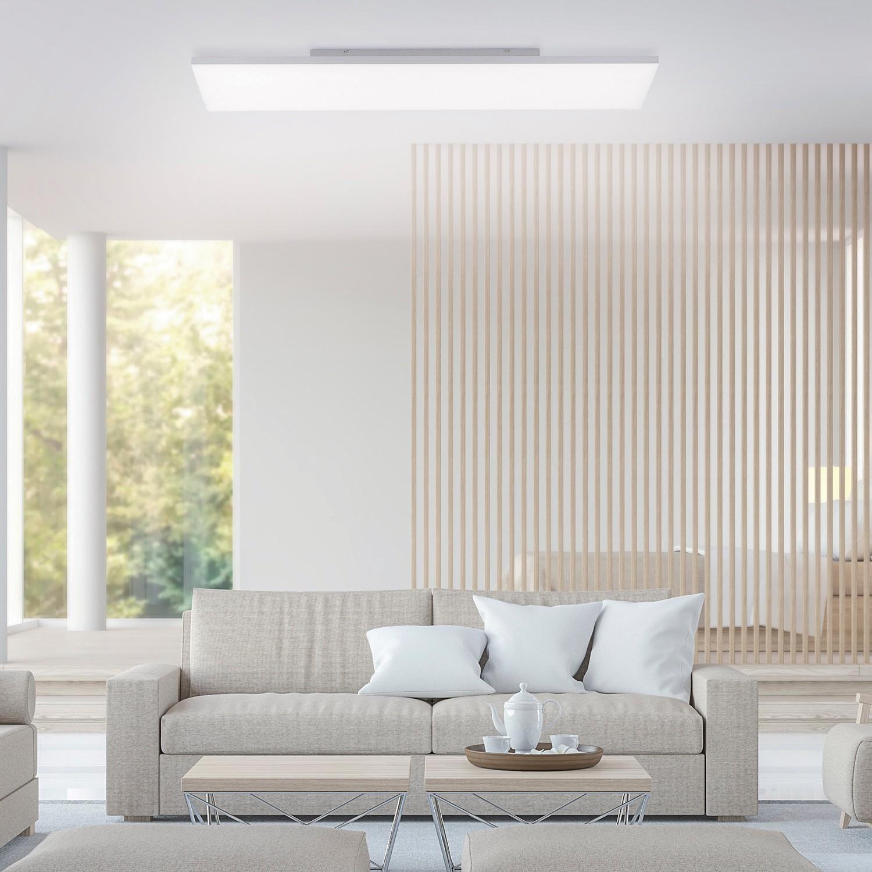 home24 LED-Deckenleuchte Canvas I