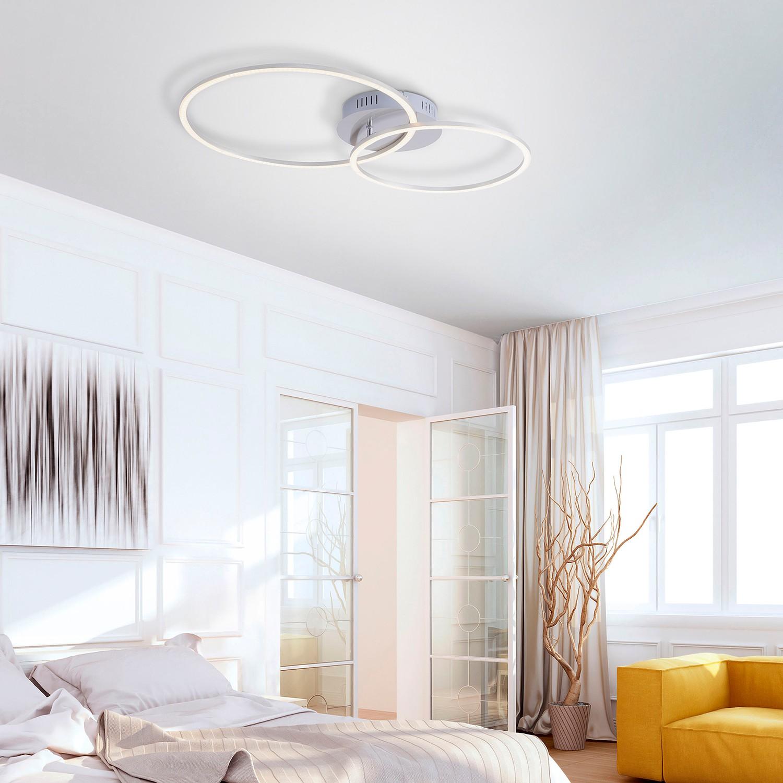 home24 LED-Deckenleuchte Ivanka II