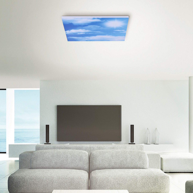 home24 LED-Deckenleuchte Cloud II