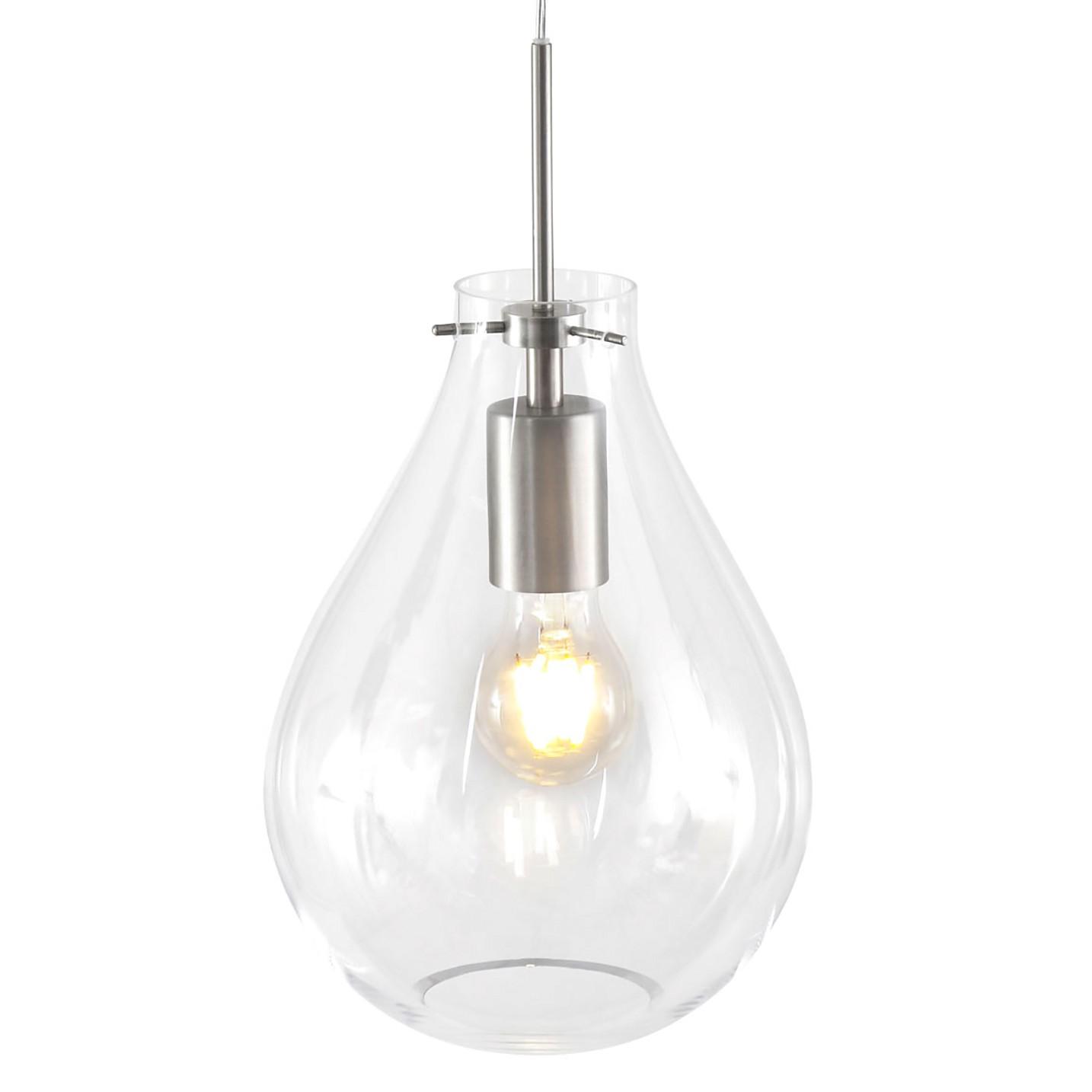 home24 Pendelleuchte Glass Light II