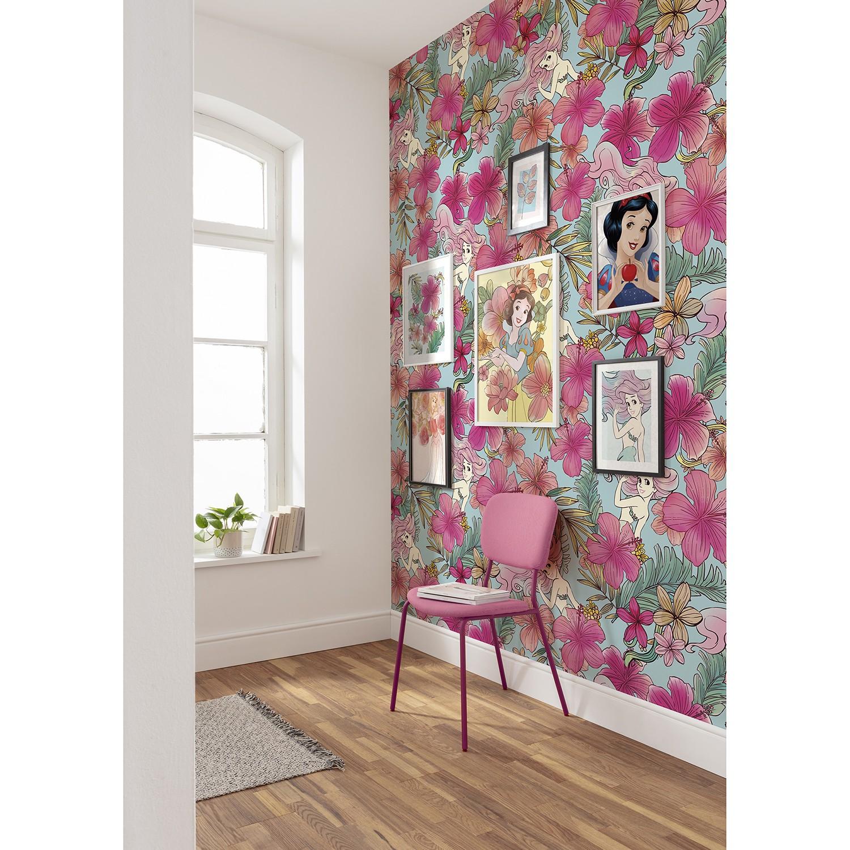 Vlies Fototapete Ariel Pink Flower, Komar