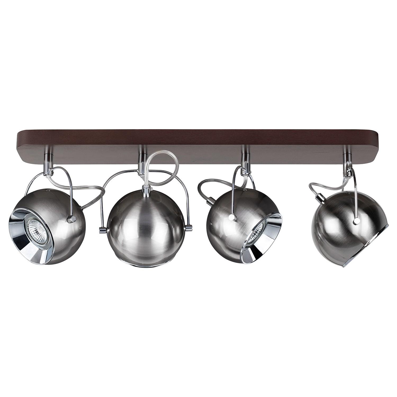 home24 LED-Deckenleuchte Ball Wood IV