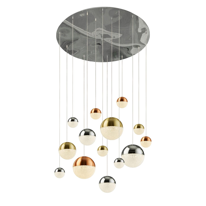 home24 LED-Pendelleuchte Planets