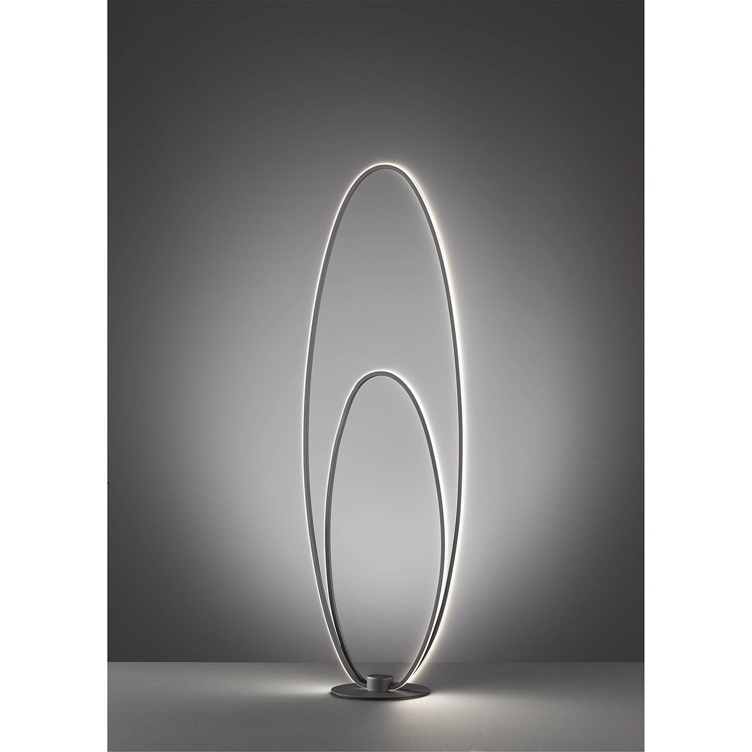 home24 LED-Stehleuchte Nia
