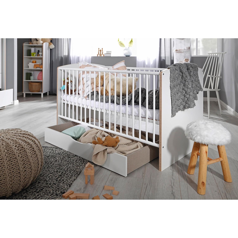 Home24 Babybed Macau, Rauch