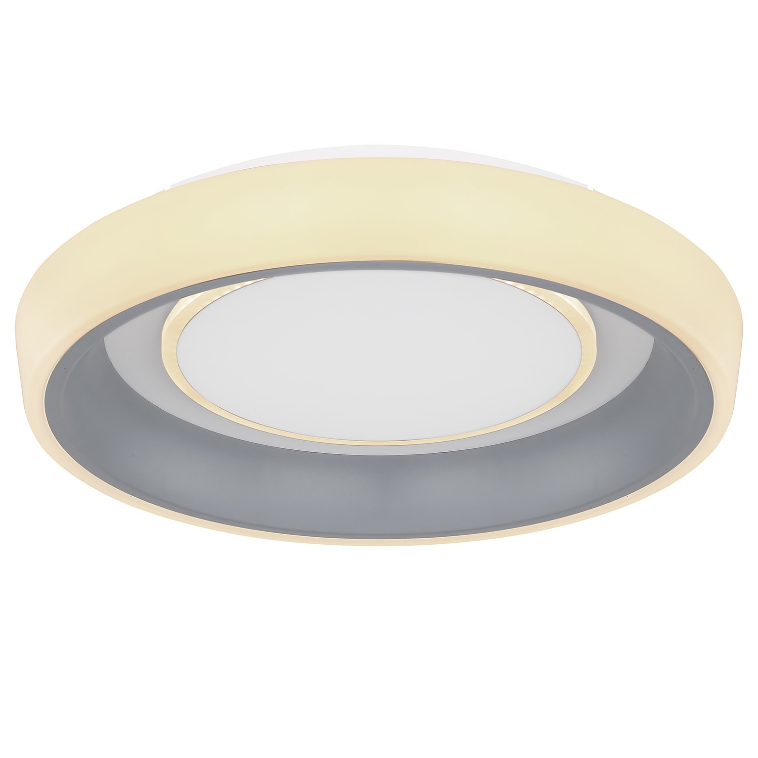 home24 LED-Deckenleuchte Tabano