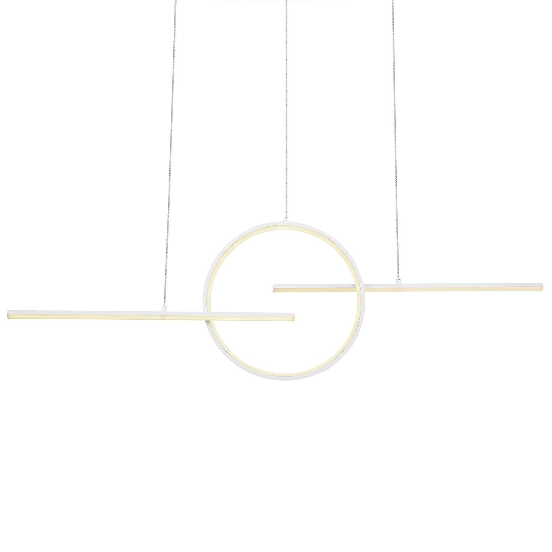 home24 LED-Pendelleuchte Barral