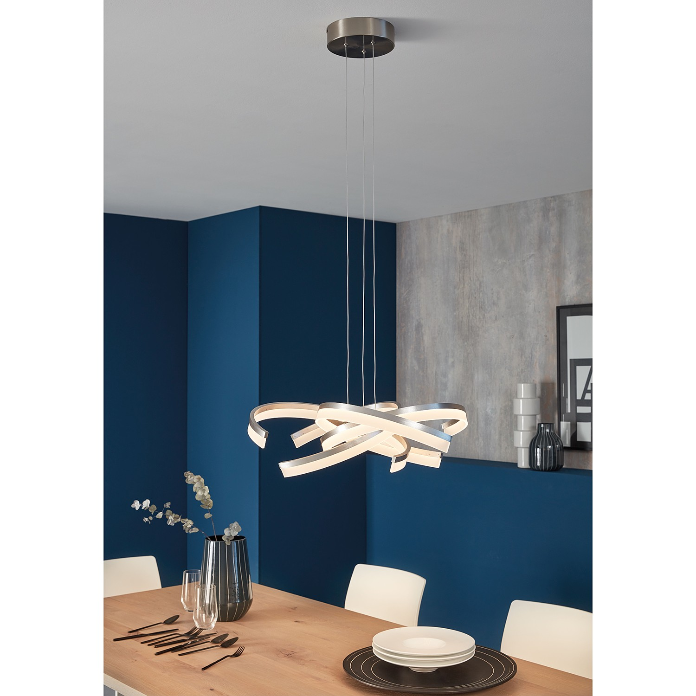 home24 LED-Pendelleuchte Tourdun