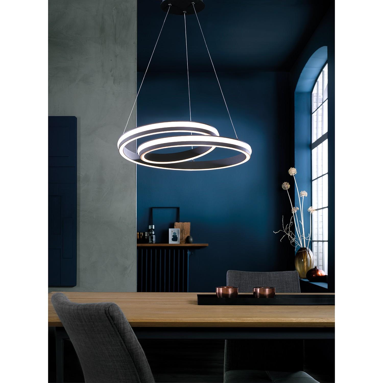 home24 LED-Pendelleuchte Tousson