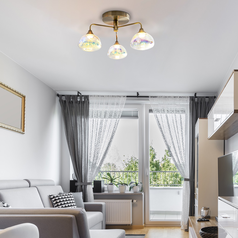 home24 LED-Deckenleuchte Varna