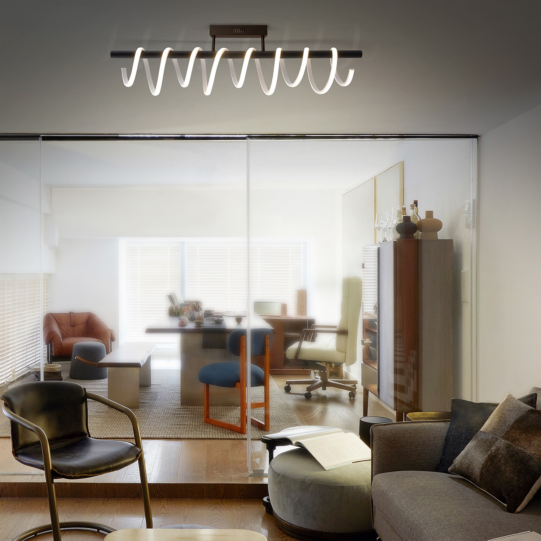 home24 LED-Deckenleuchte Belleza
