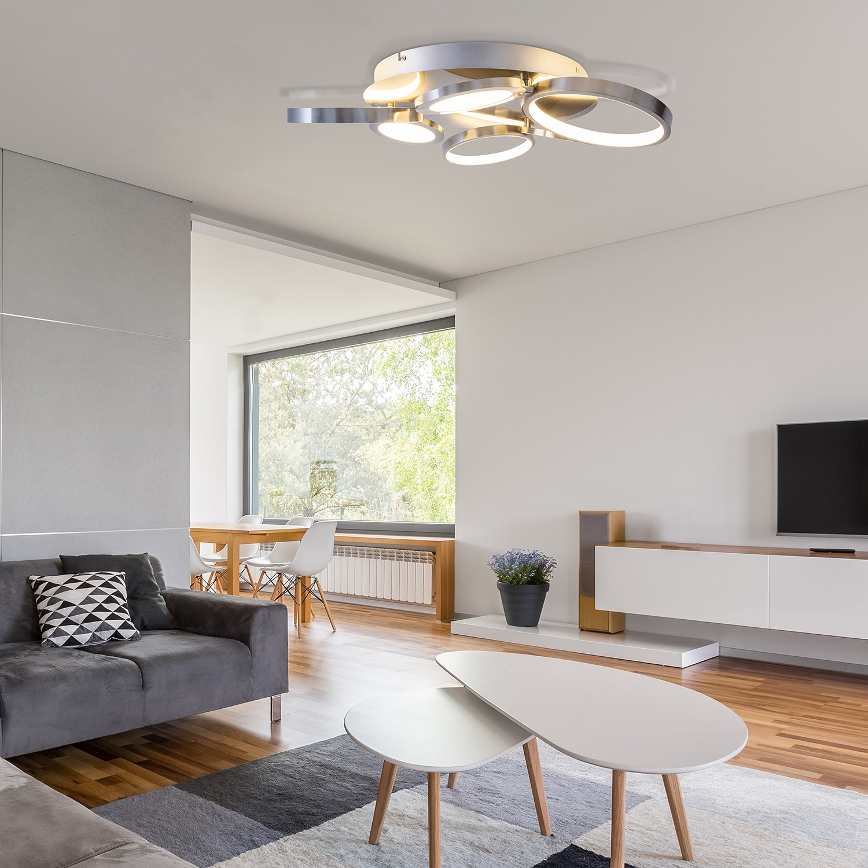 home24 LED-Deckenleuchte Morlaas