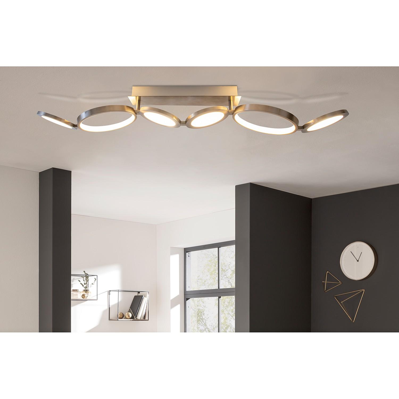 home24 LED-Deckenleuchte Mornac