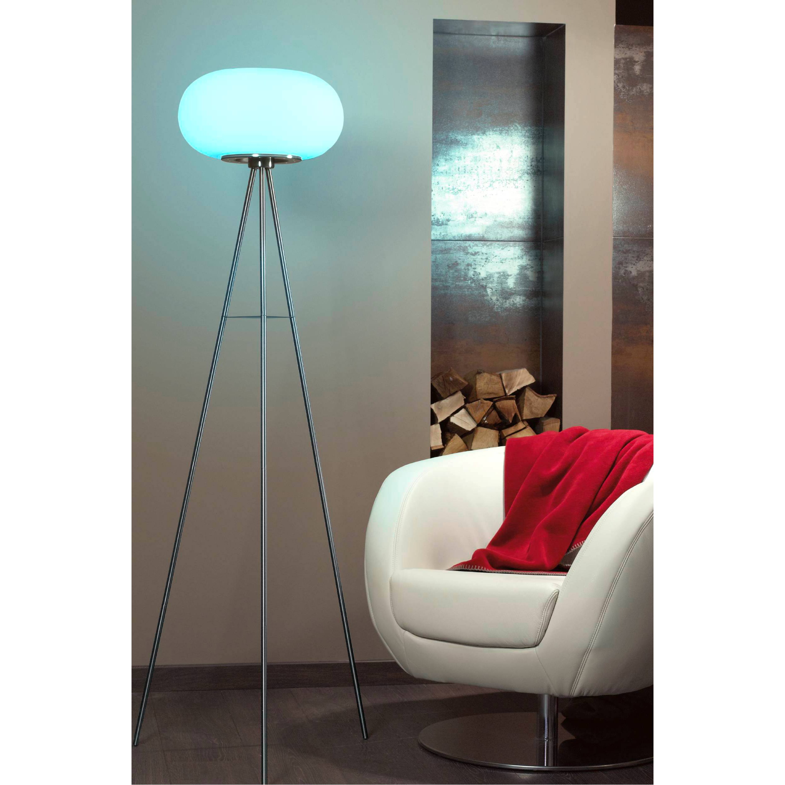 home24 LED-Stehleuchte Optica-C