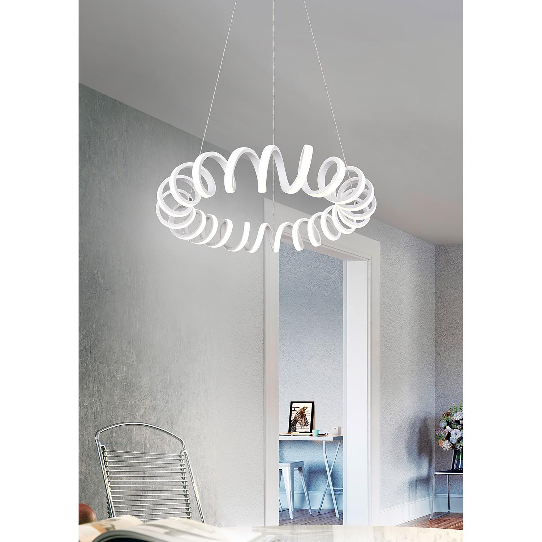 home24 LED-Pendelleuchte Curl