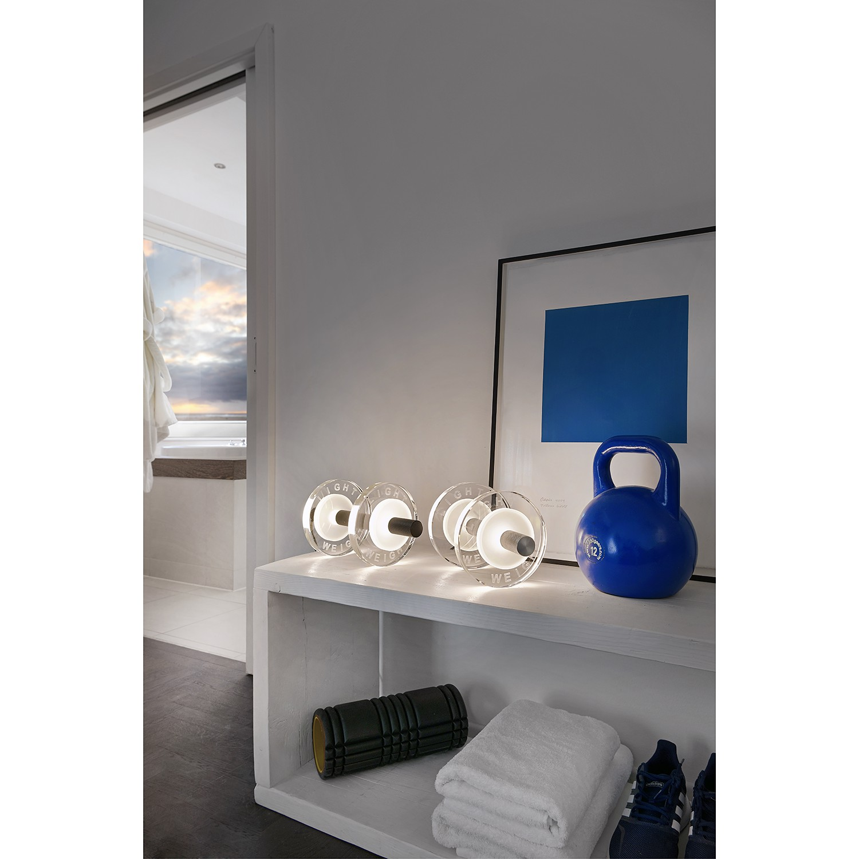 home24 LED-Tischleuchte Light Weight I