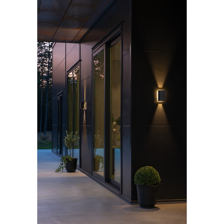 home24 LED-Wandleuchte Cremora II