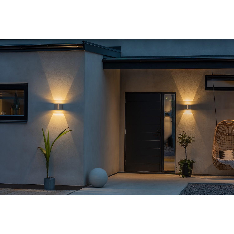 home24 LED-Wandleuchte Pavia I