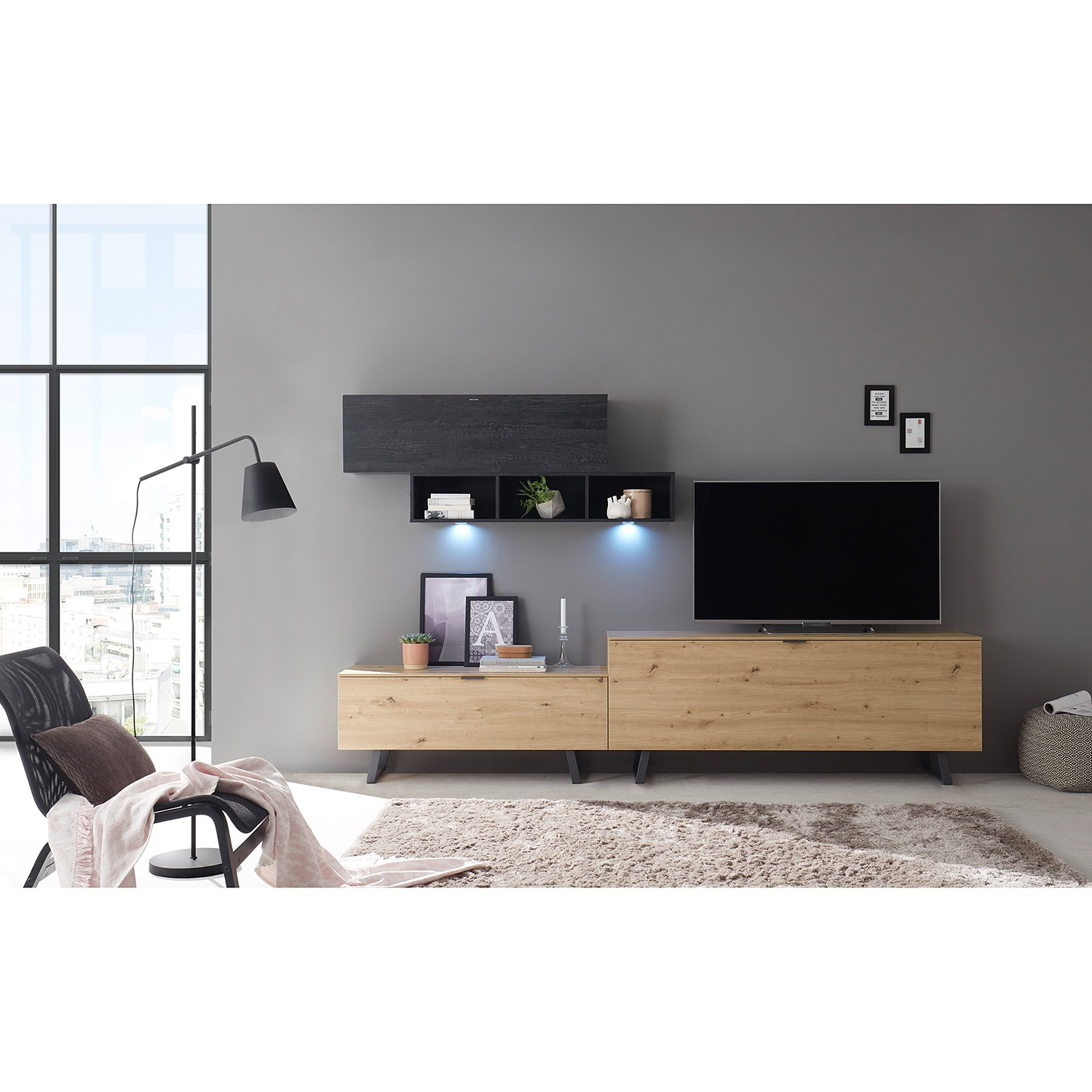 home24 TV-Lowboard Booster I