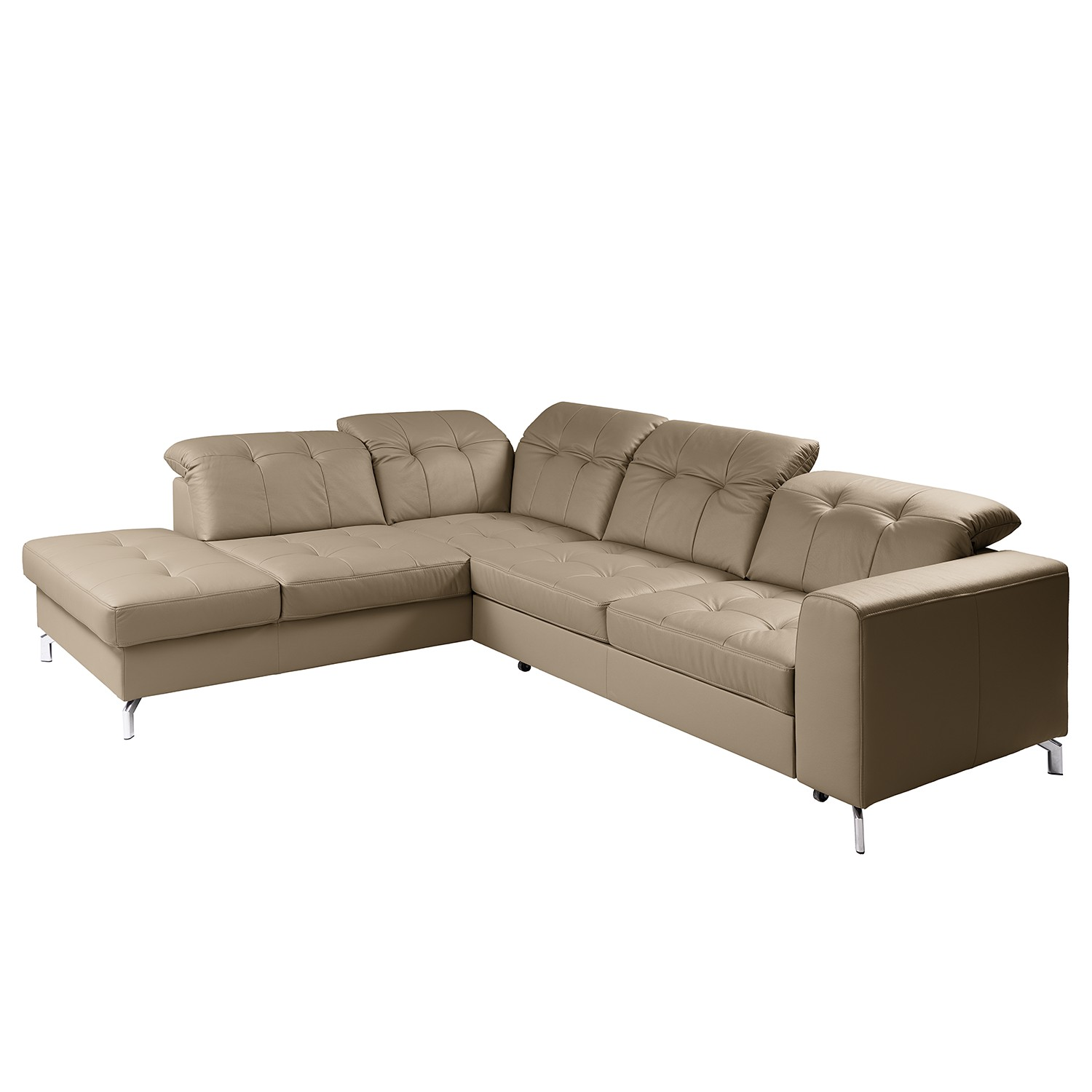 home24 Ecksofa White Pine