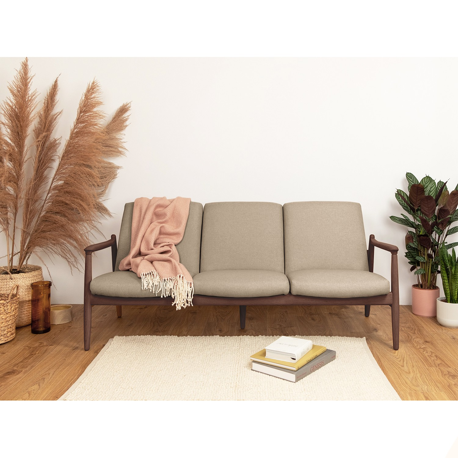 home24 Sofa Froid (3-Sitzer)