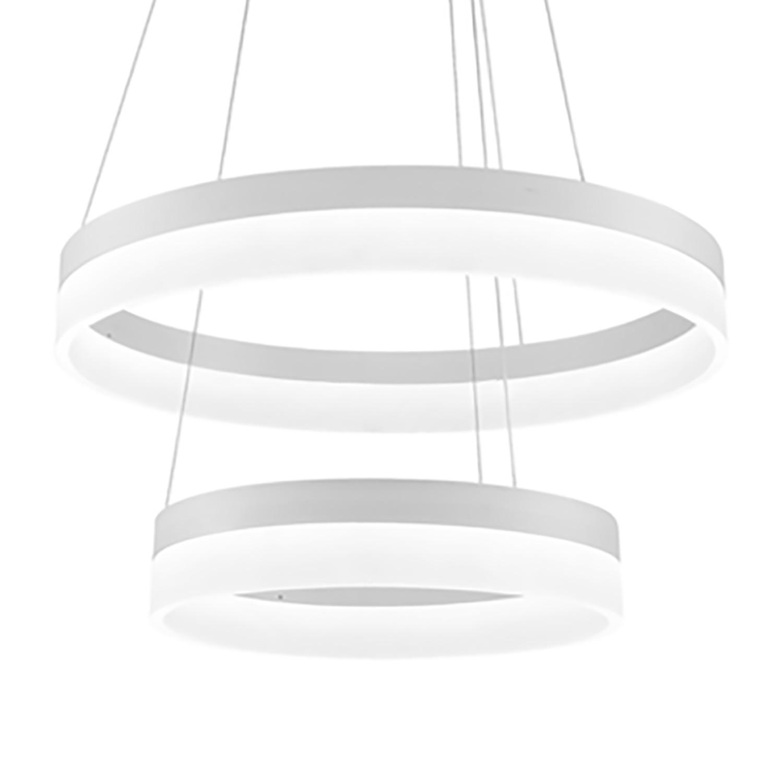 home24 LED-Kronleuchter Ring