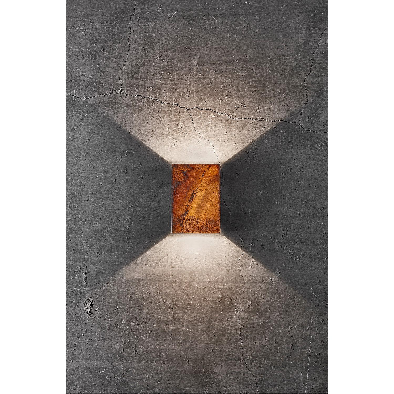home24 LED-Wandleuchte Fold VI
