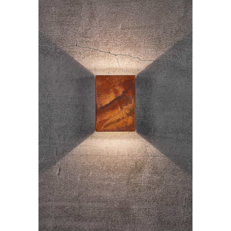 home24 LED-Wandleuchte Fold XII