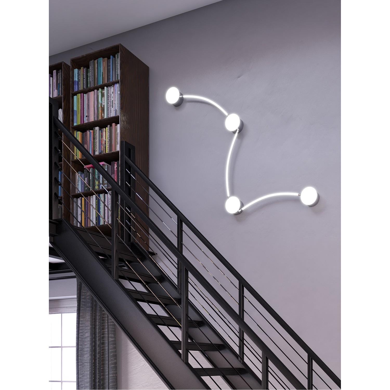home24 LED-Deckenleuchte Lima I