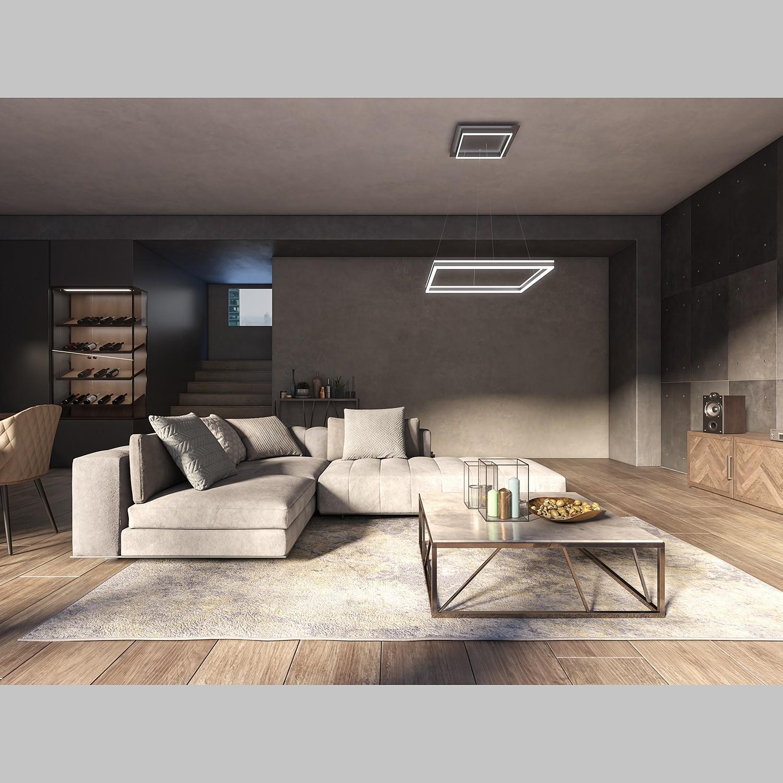 home24 LED-Pendelleuchte Kemi